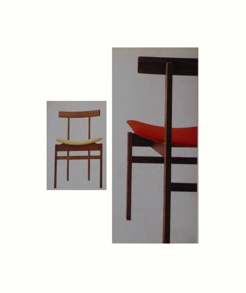Dining chair, Model 193, in solid teak. Designed by Inger Klingenberg.