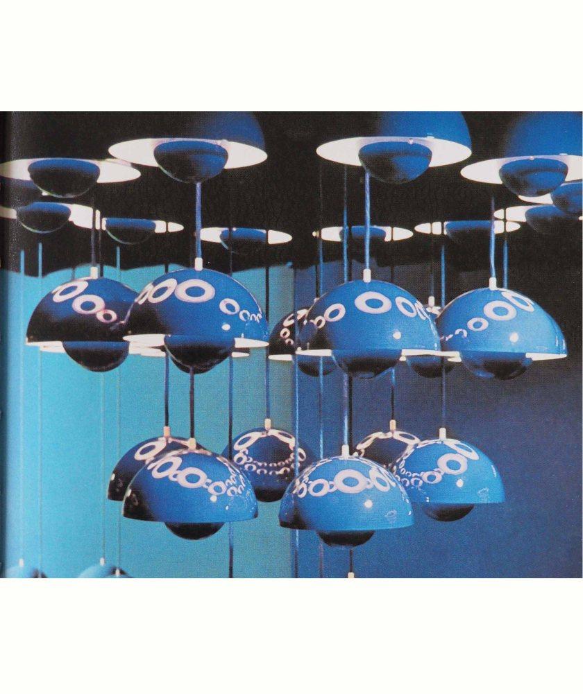 Panton. Flowerpot lamps. Poulsen. 1969.