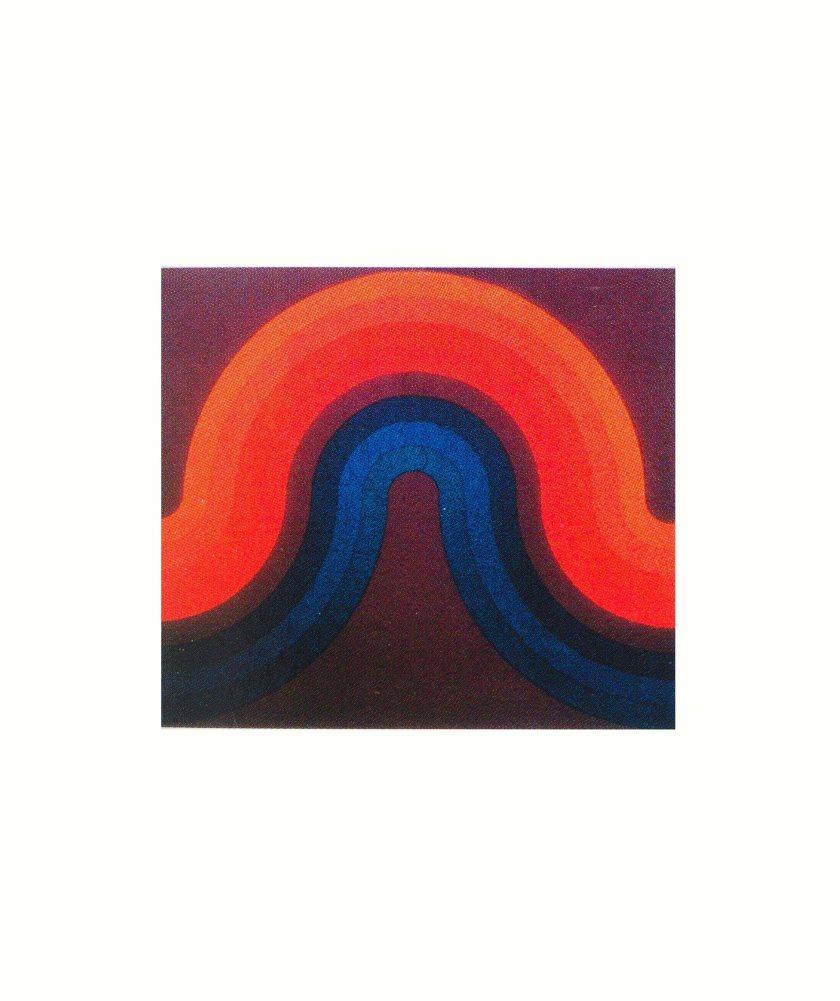 Verner Panton. Mira Spectrum. Textile for Mira-X, c. 1969.