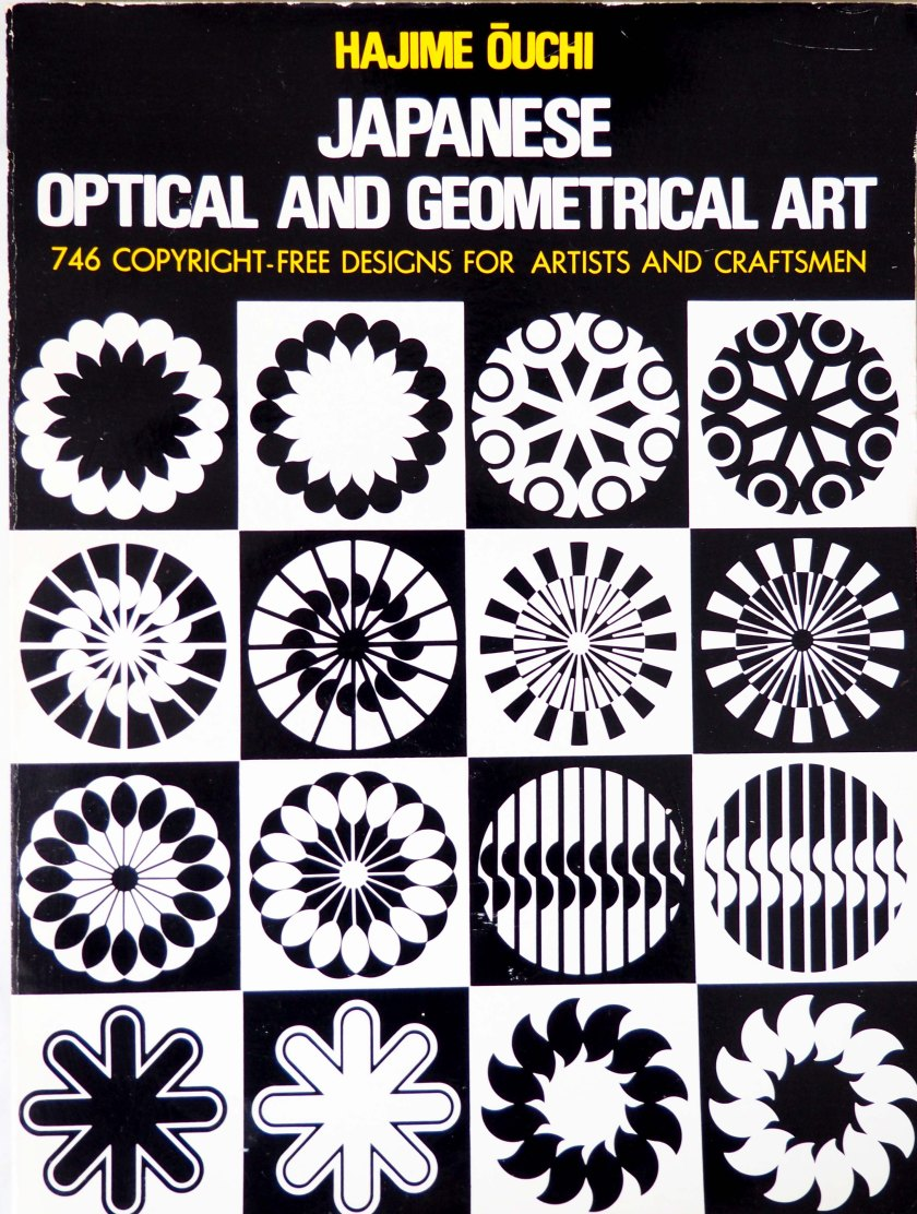 Japanese optical and geometrical art. Autor Hajime ouchi.
