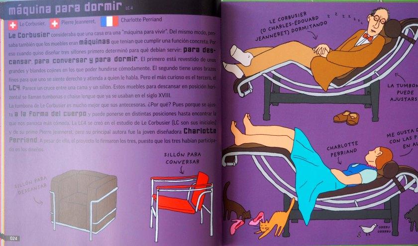 Máquina para dormir. Le Corbusier.